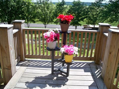 Flower Pot Stand 3 Pot Flower Stand Wood Flower By