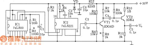 The Simple Pulse Signal Generator Circuit Composed