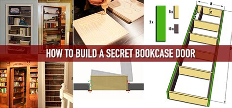 How To Build A Bookcase Door by How To Build A Secret Bookcase Door