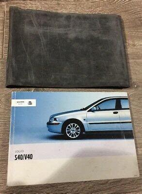 volvo   owners manual handbook folder pack