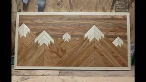Wood Pallet Mountain Picture - YouTube
