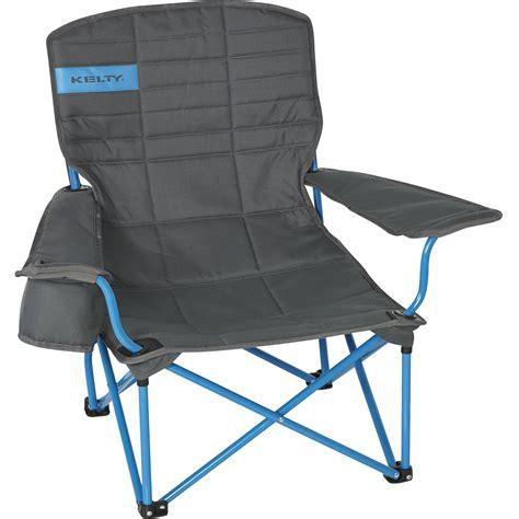 kelty folding lowdown chair smoke paradise blue