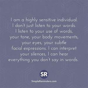 Highly sensitiv... Sensitive Child Quotes