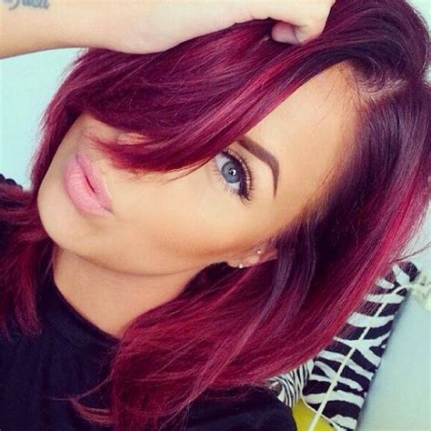 magenta hair color a month in hair colors today magenta shades