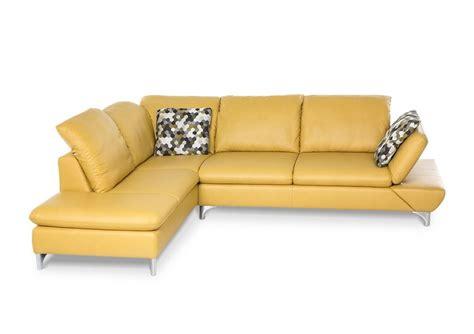 canap cuir ou tissu canapé d angle lineflex 4 places avec retour ottomane en