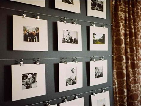 picture hanging ideas without frames chic hanging photos without frames with stainless steel