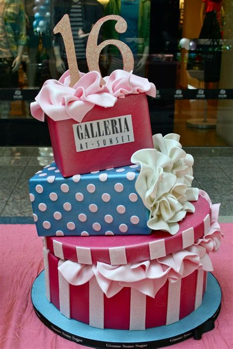 When the birthday person doesn't like traditional cake? 62 best 16th birthday cakes images on Pinterest   16th ...