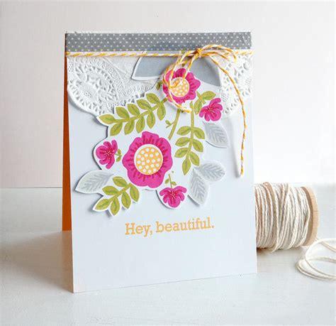 papertrey ink forum hey beautiful card