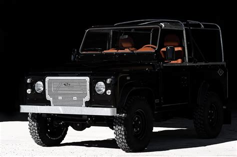 custom land rover jet black custom land rover defender