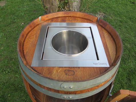 Fass Als Bar Umbauen diy wine barrel cooler barrique weinfass umbauen wine