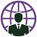 Global Icon Business International Client Communication Leadership