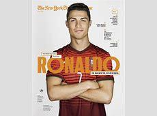 Times Magazine Messi, Neymar, Iniesta and Ronaldo FC