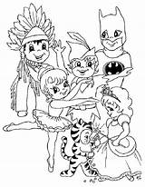 Carnival Coloring Pages sketch template