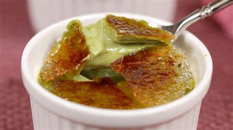 cuisine creme brulee matcha creme brulee recipe green tea crème brûlée