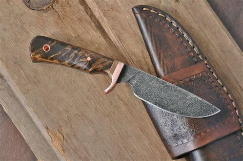 skinning knife designs custom drop point utility skinner