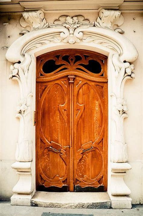 splendidly intricate hand carved doors