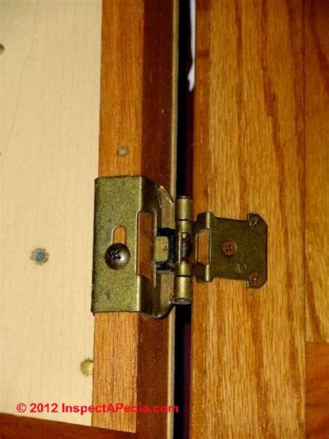 cabinet hinge types auto forward to correct web page at inspectapedia