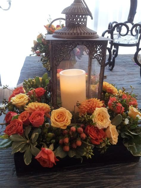 25 Great Ideas About Fall Lantern Centerpieces On