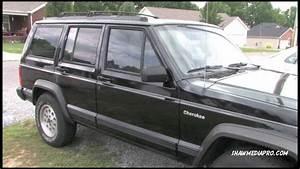 1996 Jeep Cherokee Xj Sport  4x4   Black
