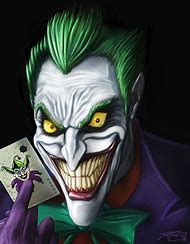 Cartoon Joker Comic