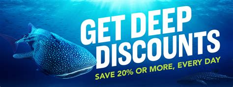 discounts tickets specials aquarium