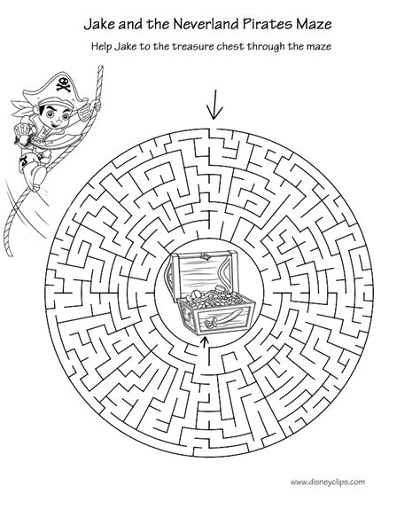 printable disney mazes disneys world  wonders