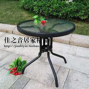 Petite Table De Jardin : petite table ronde jardin l 39 habis ~ Dailycaller-alerts.com Idées de Décoration