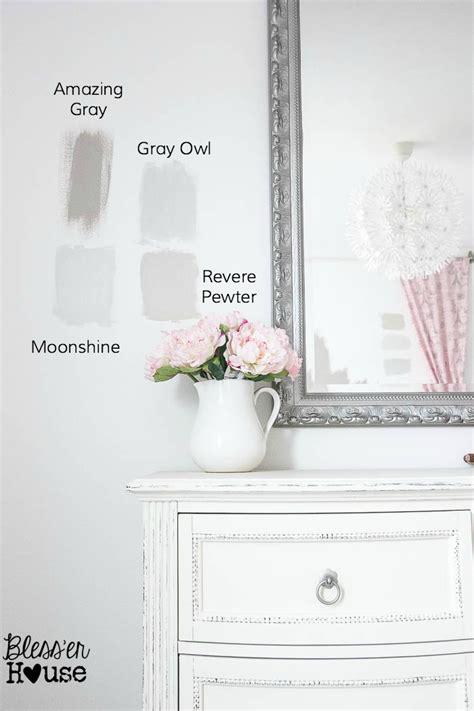 8 steps to choosing the paint color bless er house