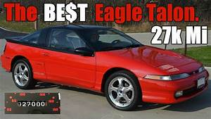 Holy Grail 27k Mile 1990 Eagle Talon Tsi Awd Turbo 41st Car