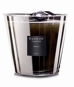 Bougie Baobab Soldes : bougie platinum de baobab collection 4 tailles ~ Teatrodelosmanantiales.com Idées de Décoration