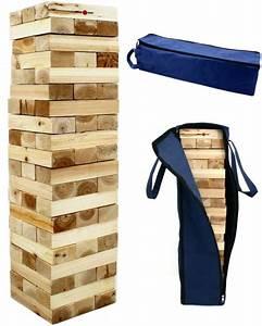 XXL Turm Garten Geschicklichkeitsspiel Aus Holz In
