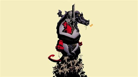 The Nightmare Before Christmas Wallpapers Comics Hellboy Wallpaper 31241