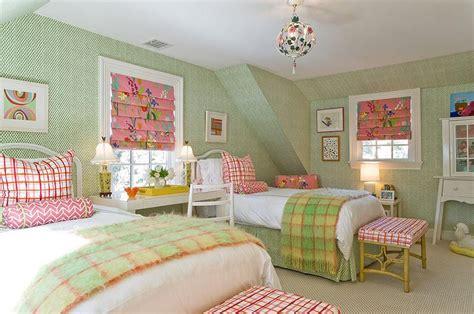 fun pink  green bedroom designs home design lover