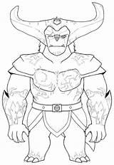 Gunmar Trollhunters sketch template