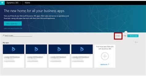 My Apps on HomeDynamicscom  Microsoft Dynamics 365