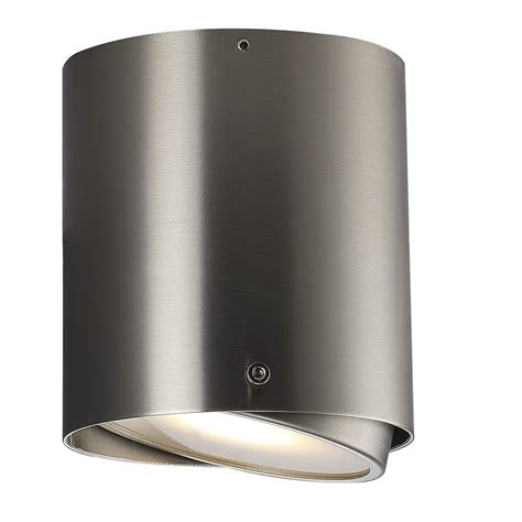 nordlux ip s4 wall amp ceiling light brushed steel