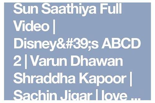 abcd 2 hd video baixar sun saathiya full