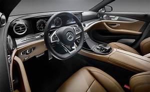 2016 Mercedes Benz E Class Interior Revealed Photos