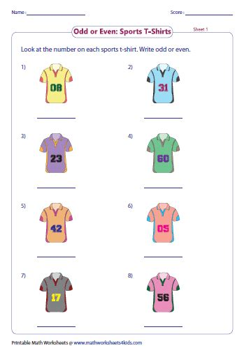 odd   numbers worksheets