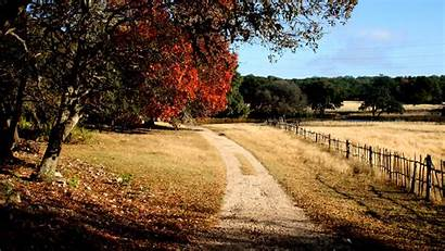 Country Texas Hill Fall Ranch Desktop Wallpapers