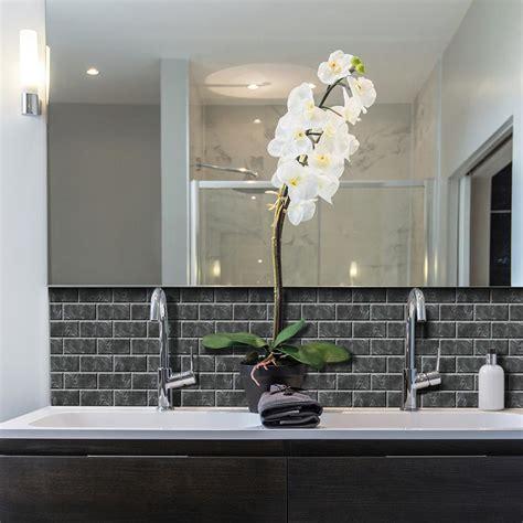 decorative wall tiles kitchen backsplash smart tiles subway marbella 10 95 in w x 9 70 in h peel