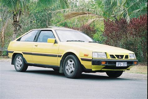 mitsubishi cordia 1987 mitsubishi cordia in a bright and fun yellow