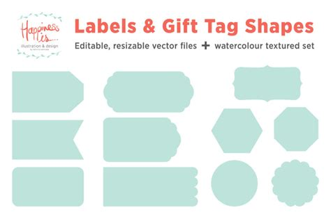 Geometric shapes shapes and symbols natural shapes hair shapes square shapes. Free Labels and Gift Tag Shapes SVG - Free SVG Files Sports