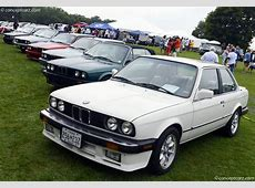 Auction Results and Sales Data for 1987 BMW 325