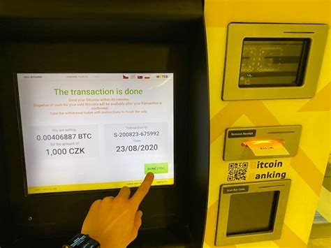 But even with many success stories surrounding bitcoin investments, seasoned investors are voicing caution. Withdrawing cash in Prague from a Bitcoin ATM