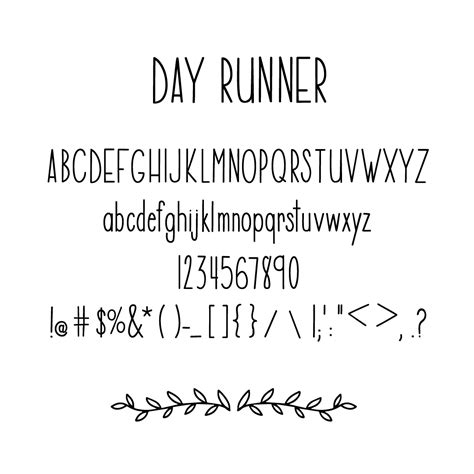 Day Runner  A Tall Skinny Handlettered Font Ttf. Ocean Scene Murals. Bombing Murals. Ski Signs. Zoo Decals. Where To Order Stickers. Cool Letter Lettering. Mythological Creature Signs. Food Decals