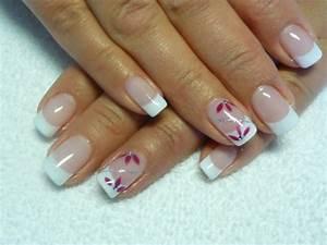 Ongle En Gel Court : french gel bio sur ongles naturels attitude french ~ Melissatoandfro.com Idées de Décoration