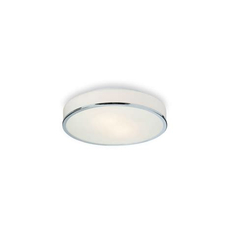 6028ch profile flush fitting in chrome with opal glass
