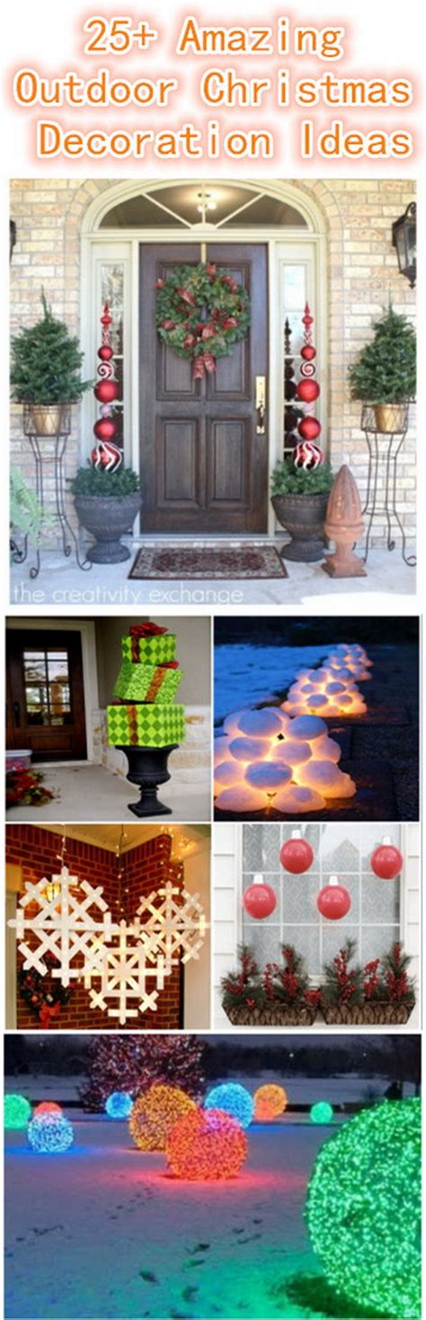 30+ Amazing Diy Outdoor Christmas Decoration Ideas For