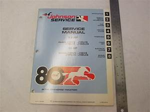 1980 Johnson Outboard Service Manual 9 9